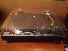 RARE BLACK DUAL VOLT Technics SL-1210M3D w/Accessories. MK2 MK5. 1 Owner Mint!