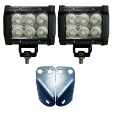 50 Cal 3'' LED Light Pod Mounting Brackets For Yamaha YXZ 1000R 2016 Current UTV