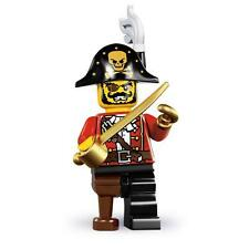 LEGO 8833 SERIES 8 MINIFIGURES PIRATE CAPTAIN POLYBAG MISB SEALED NEW