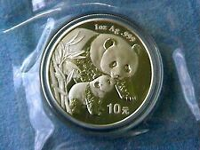 2004 1oz ounce 10 yuan Silver China Chinese Panda coin in mint double sealed