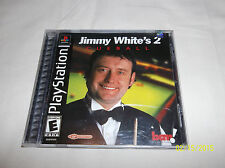 Jimmy White's 2: Cue Ball (Sony PlayStation 1, 2000)(Brand New)