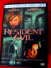 Resident Evil:Deluxe Edition DVD Mint OOP Milla Jovovich Michelle Rodriguez
