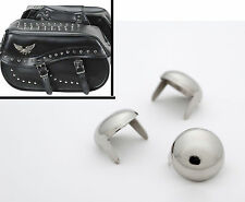 100 ct. Chrome Studs Saddlebag Seat Half-Inch size. Motorcycle StudsAndSpikes