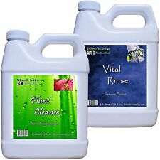 Plant Cleanse & Vital Rinse Spider Mite & Powdery Mildew Control 12 Gallons Each