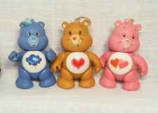 Vintage 1983  Care Bears Plastic Figures Grumpy Tenderheart True heart lot k1