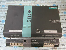 Siemens 6EP1336-3BAOO SITOP MODULAR POWER SUPPLY 120/230V 20A *Tested & Working*