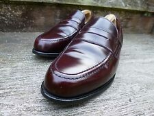 ALFRED SARGENT LOAFER – BROWN / OXBLOOD-UK 10.5 -EXCELLENT–GOOD FOR CHURCH