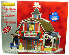 Lemax 35536 COUNTRY BARN GIFT SHOP Exclusive Christmas Village Building Decor I