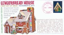 COVERSCAPE computer designed Gingerbread House U/O FDC