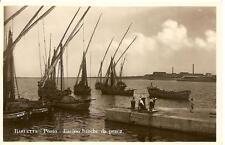 BARLETTA  -  Porto - Bacino barche da pesca.