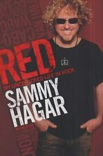 Red : My Uncensored Life in Rock by Sammy Hagar 2011, Hardcover