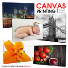 "CANVAS Printing 12""x8"" Personalised A4 Print Your PHOTO/PICTURE 18mm Box Frame"