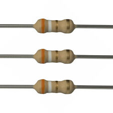 100 x 3.9 Ohm Carbon Film Resistors - 1/4 Watt - 5% - 3R9 - Fast USA Shipping