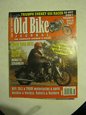 June 1999 The Old Bike Journal Magazine - BMW - Porsche NIghtmare (BD-33)
