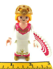 PLAYMOBIL~Dollhouse~Princess~Victorian~Lady~Mansion~Castle~Gold Tiara~Fan~WhiPG