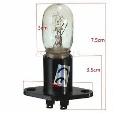 Microwave Oven Light Bulb Lamp Globe With Base Vertical Right Z187 250V 20W