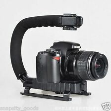 Stabilizing Bracket C-Shape Handle Grip Pro Handheld Mount for DSLR Camera GoPro