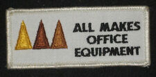 All Makes Office Equipment Patch - Vintage