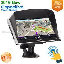 XGODY 7'' Car Lorry Speedcam GPS Navigation SAT NAV Truck Navigator 3D Map POI