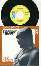 """ISAAC HAYES 45 TOURS 7"""" BELGIUM THEME FROM SHAFT"""