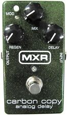 Used MXR M169 Carbon Copy Analog Delay Guitar Effects Pedal!