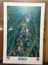 DYNAMIC FORCES TOP COW MICHAEL TURNER FATHOM LIMITED EDITION LITHOGRAPH PRINT