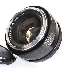 Canon FD 55mm f/1.2 1:1.2 Manual Focus Lens Very Good Condition