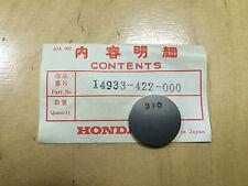 """Original Honda CB 750 ,CB 900 ,CB 1000 ,CB 1100 ,CBX """"Shim (310)"""" 14933-422-000"""