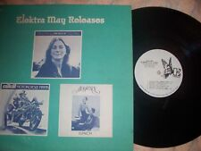ELEKTRA MAY RELEASES -PROMO-ONLY LP -JUDY COLLINS, AUDIENCE, SAILCAT +1 [N-MINT]