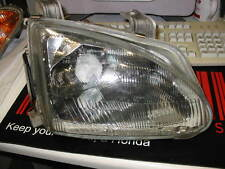 Headlight for a UK Honda CRX VTi Esi Del Sol o/s glass Motorised Very rare!!