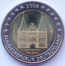 2006 GERMANY Special Edition HOLSTENTOR 2 Euro Coin - BU  uncirculated - A - NEW