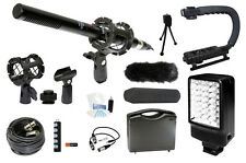 Microphone Complete Camcorder Kit for Sony HXR-MC2000U Camcorders