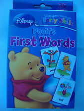 """ Disney, Winnie the Pooh "", FIRST WORDS, Learning Game Cards, Educational, NEW"
