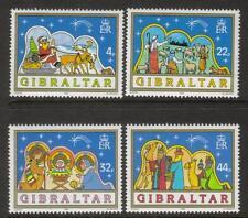 GIBRALTAR MNH 1989 SG622-625 CHRISTMAS SET OF 4