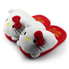 Zapatillas de andar por casa Plush Slippers HELLO KITTY 28 cm 11""
