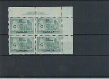 O38 Plate #2 UR VF MNH Cat $70 Textile 50c G overprint Canada mint
