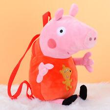 Super Cute peppa pig toy doll serie peppa backpack 1pc 44cm