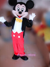【TOP SALE】 NEW MICKEY MOUSE MASCOT COSTUME ADULT SIZE HALLOWEEN PARTY DRESS FAST