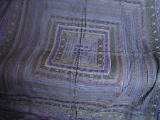 Beautiful Vintage Handcrafted Blue Quilt Bedspead Bed Cover India