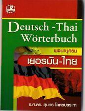Thailand Deutsch-Thai Wörterbuch für Thailänder Sprachführer Buch