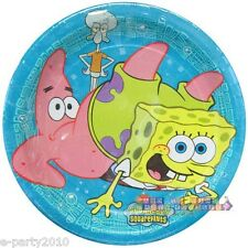 SPONGEBOB SQUAREPANTS PATRICK SMALL PAPER PLATES (8) ~ Birthday Party Supplies