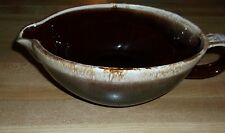 "VINTAGE MC COY POTTERY 7128 GRAVY BOWL GREAT CONDITION 8"" X 5""*"