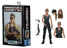 "Terminator 2 Ultimate Sarah Connor Terminator 7"" Action Figure NECA"