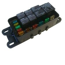 Waterproof Sealed Fuse Relay Panel Block ATV UTV CAR TRUCK 12V Off-Road TRACTOR