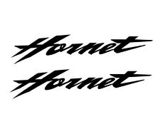 2 Stickers HORNET Honda - 19,5cm x 4cm