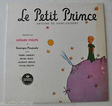 LE PETIT PRINCE FRENCH STORY LP Record Antoine de Saint-Exupery Gerard Philipe