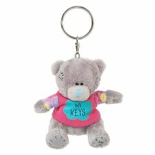 "Me to You 3"" 'My Keys' Key Ring Soft Plush & Cute T-Shirt - Tatty Teddy Bear"