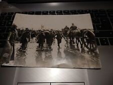 ORIGINAL    WW1 PHOTOGRAPH GERMAN STRETCHER BEARERS IN THE MUD OF YPRES