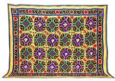 LARGE UZBEK HAND EMBROIDERY PURE COTTON  SUZANI OF SAMARKAND,UZBEKISTAN OLM-166