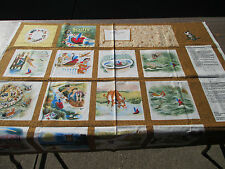 Scuffy The Tugboat Little Golden Books Fabric Panel Sew Your Own Book Cotton